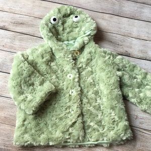 Other - Bearington Baby Collection plush Frog Coat 12-24m